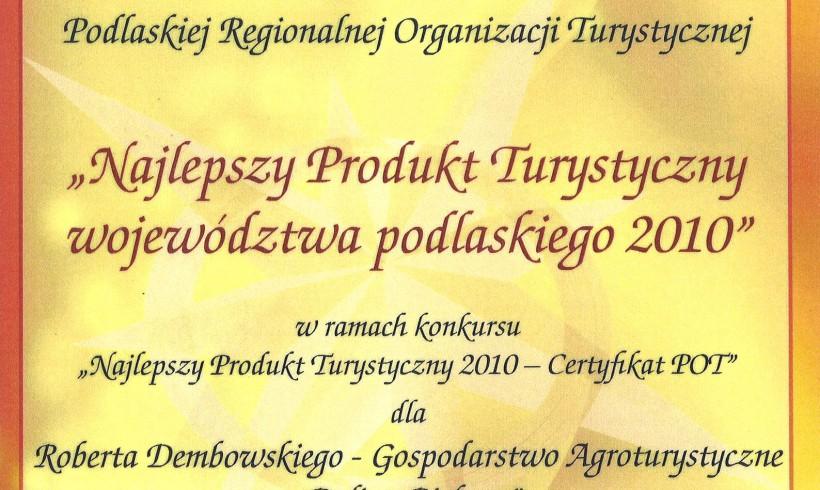"""""""Przystanek Biebrza"""" wśród najlepszych produktów turystycznych Podlasia"""