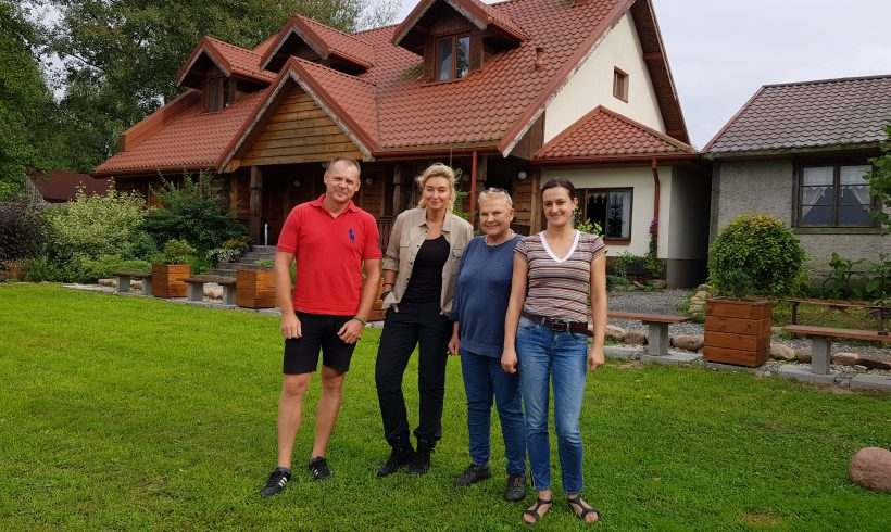 Martyna Wojciechowska i Elżbieta Dzikowska w DOLINIE BIEBRZY we Wroceniu